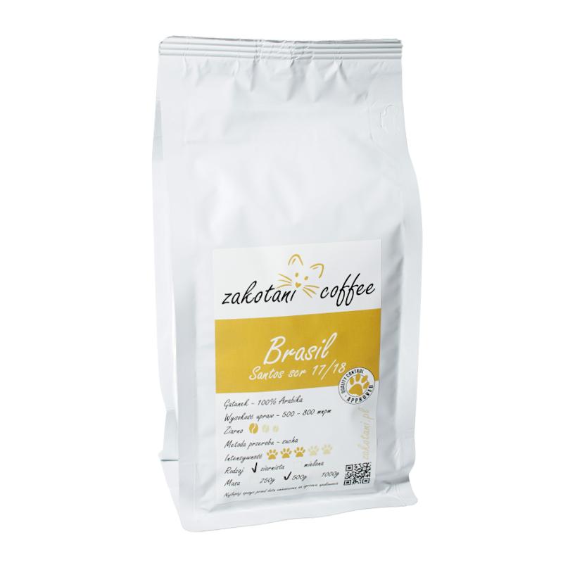 zakotani.pl coffee Brasil Santos scr. 17/18